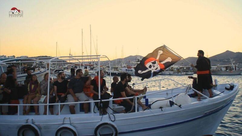 Αποτέλεσμα εικόνας για paros naousa pirate raid  festival