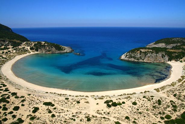 Voidokoilia beach, Messinia,Peloponnese