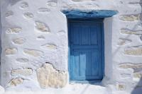 White on blue, Amorgos