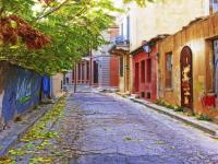 Back street in Athens