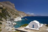 little church of Agia Anna in Amorgos